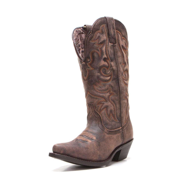 44d17650e90 Laredo Womens Wide Calf Snip Toe Cowboy Boots 51079 in 2019 | New ...