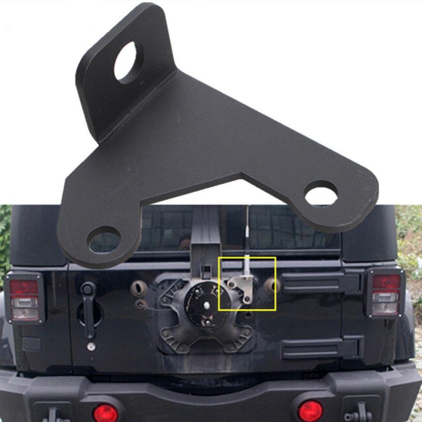 Auto Car Tailgate Back Door Antenna Mount Bracket Holder For Unlimited Liberty Sahara 2 4 Door Jeep Wrangler With Images Jeep Wrangler Jeep Wrangler Jk 2007 Jeep Wrangler