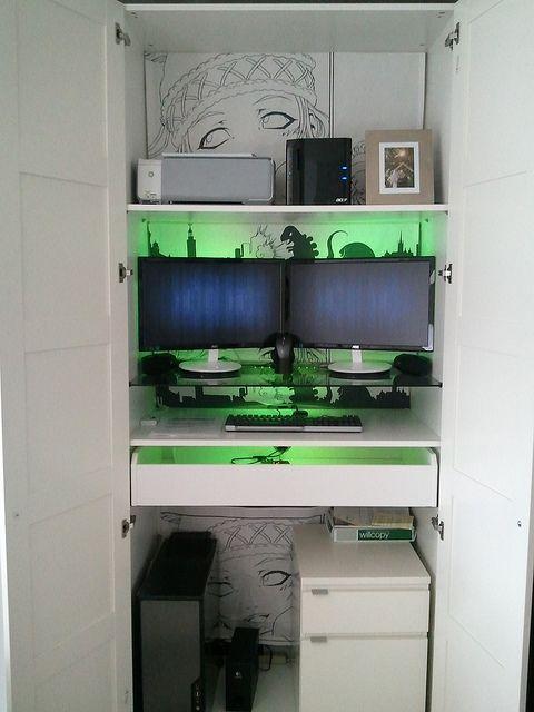 Workstation Complete Modern Home Office Furniture Office Furniture Modern Small Space Office