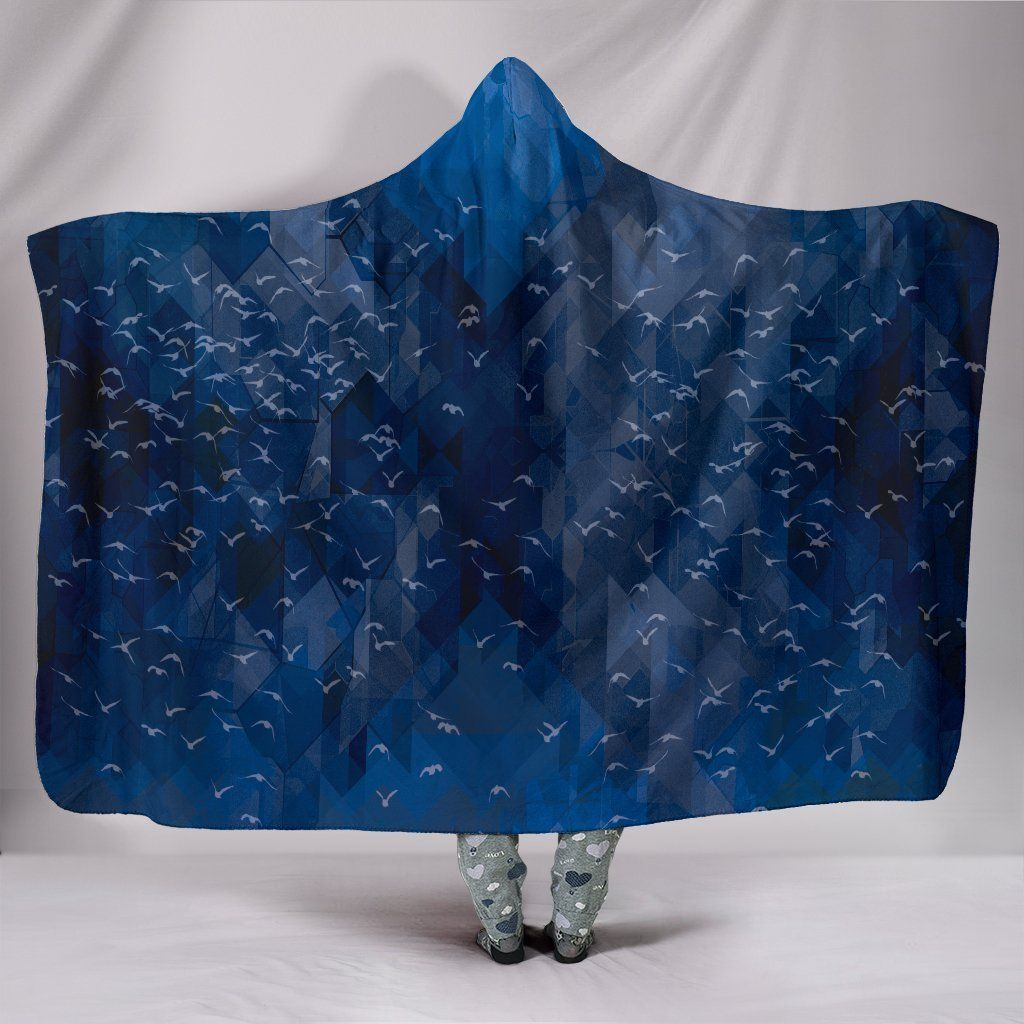 Photo of Abyss – Hooded Blanket – Abyss / Adult 80×60