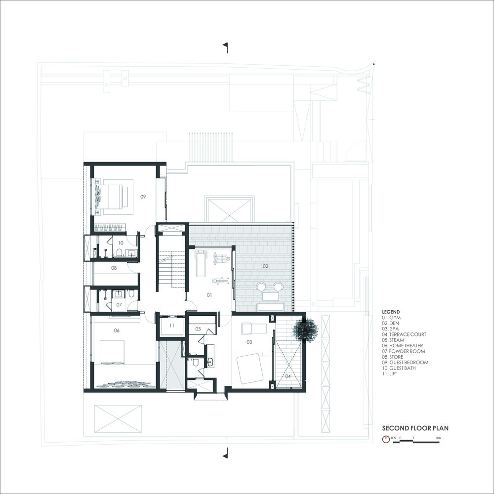 Gallery Of The Cube House Reasoning Instincts Architecture Studio 48 Courtyard House Plans House Design Pictures Architecture House