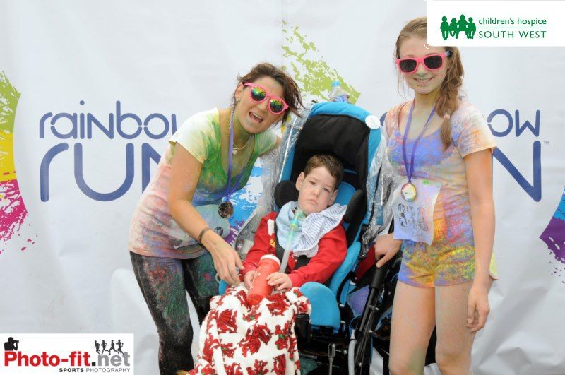Thank you Rainbow Runners!  Nearly 1,000 runners took part in the Rainbow Run at Exeter Racecourse raising more than £48,000 for Children's Hospice South West.  Photo courtesy of Photo-fit http://4398802.tifmember.com/v/photos/66762rxv