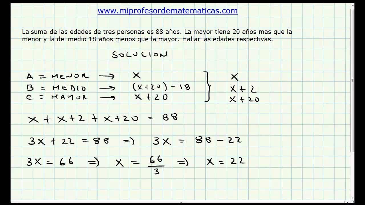 13 Ideas De Ecuaciones Primer Grado Ecuaciones Primeros Grados Matematicas