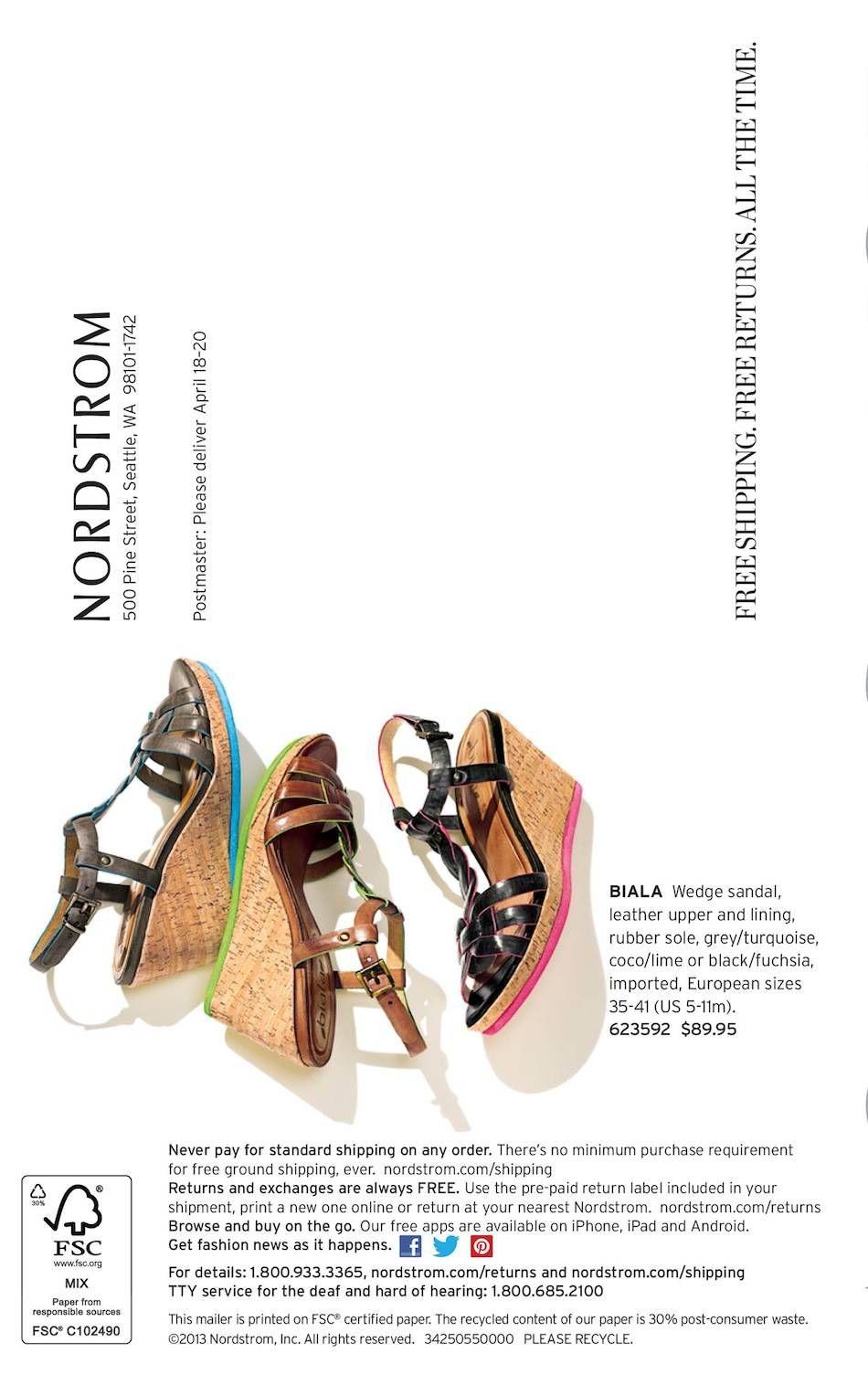 ebc8bef33 Nordstrom April 2013 Comfort Shoes Catalog   BonTon   Shoes ...