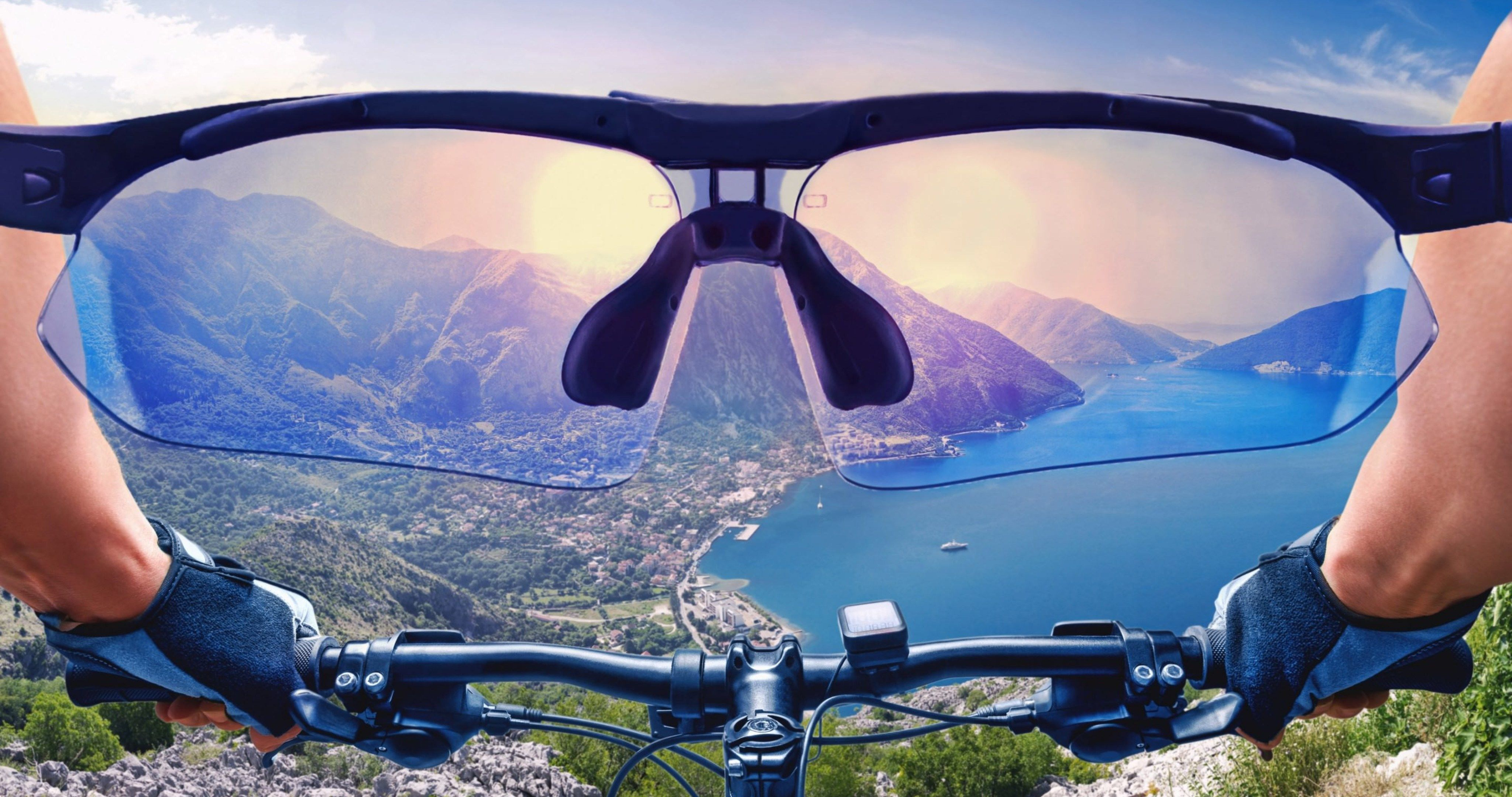 Cycling Bike View From First Person 4k Ultra Hd Wallpaper View