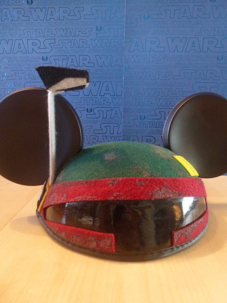Boba Fett Ears With Images Disney Star Wars Star Wars Theme