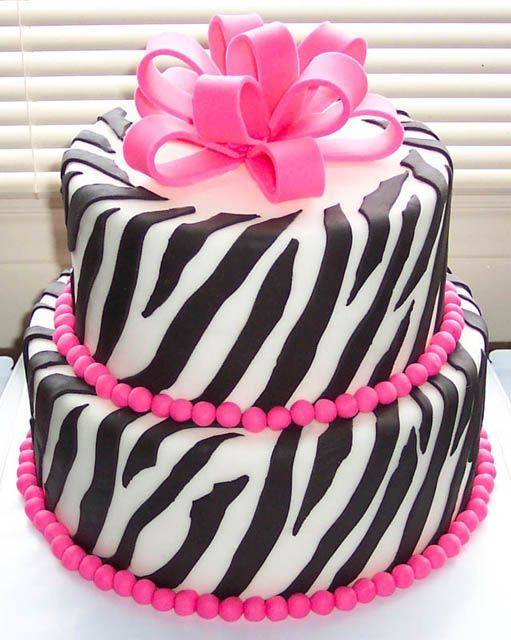 Pink Zebra Cake Cakes Pinterest Cake Pictures Cake And