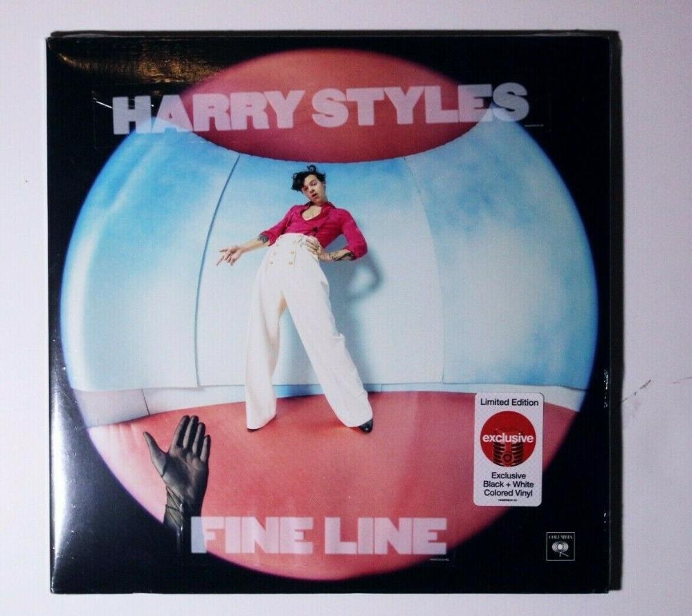 Harry Styles Fine Line Limited Black White Splatter Vinyl 2 X Lp Sealed Ebay In 2020 Harry Styles Black And White Vinyl