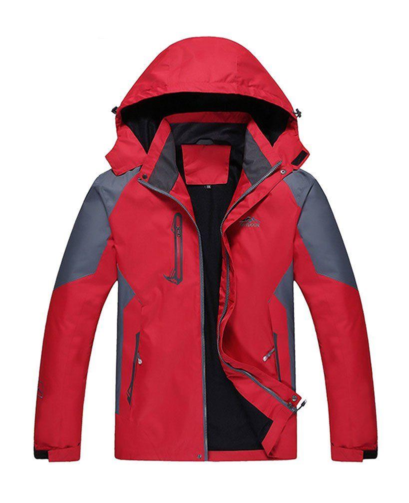 Beng menus waterproof mountain outdoor jacket relaxedfit in quick