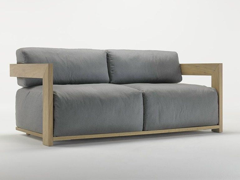 Upholstered Iroko Sofa Cloud Cloud Collection By Meridiani