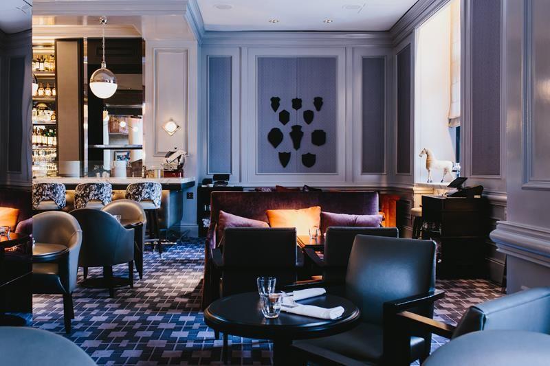 Ultimate Design of Bar Margot in Four Seasons Hotel Atlanta Covet