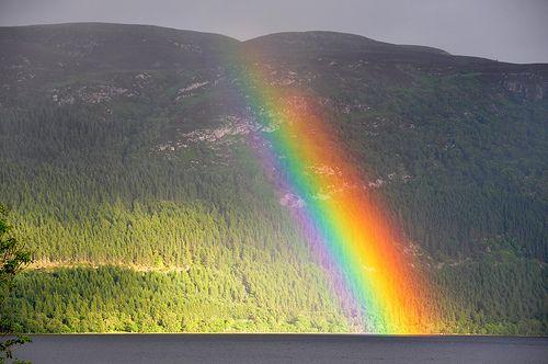 Scotland - Loch Ness - Rainbow - July 2010 / Ecosse - Loch Ness - Arc en Ciel Juillet 2010
