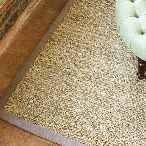 Texture Of Our New Shriva Jute Rug
