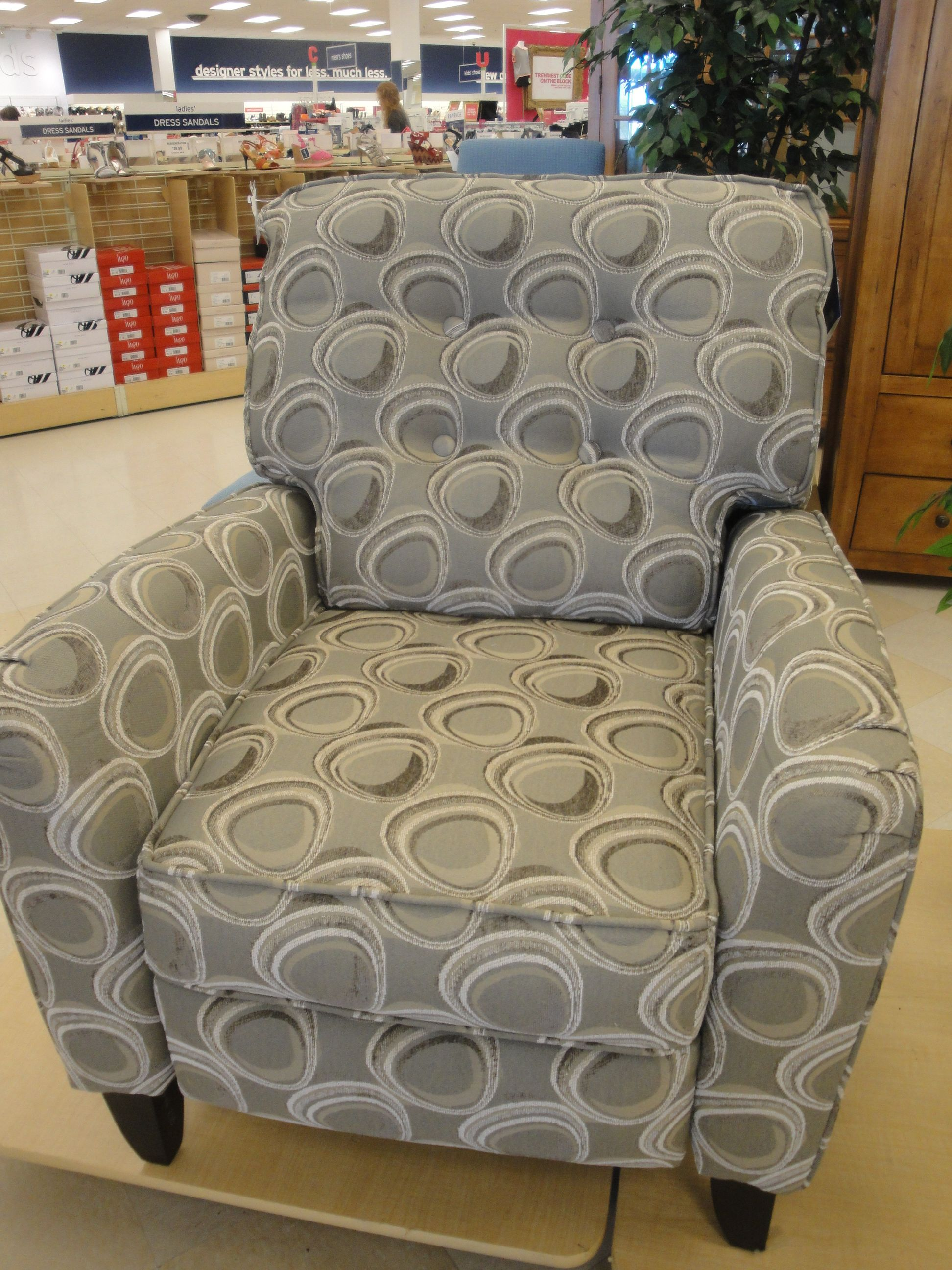 Just bought this very comfortable recliner at marshalls