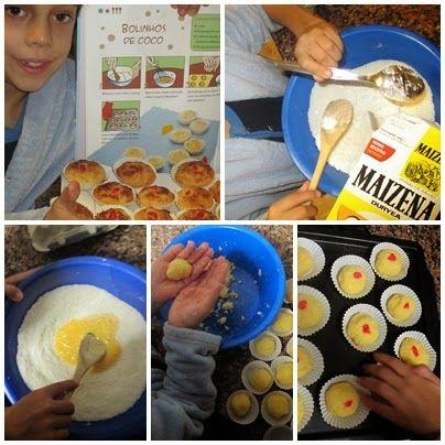 receitinhas da belinha gulosa: Bolinhos de coco do Chef Gonçalo
