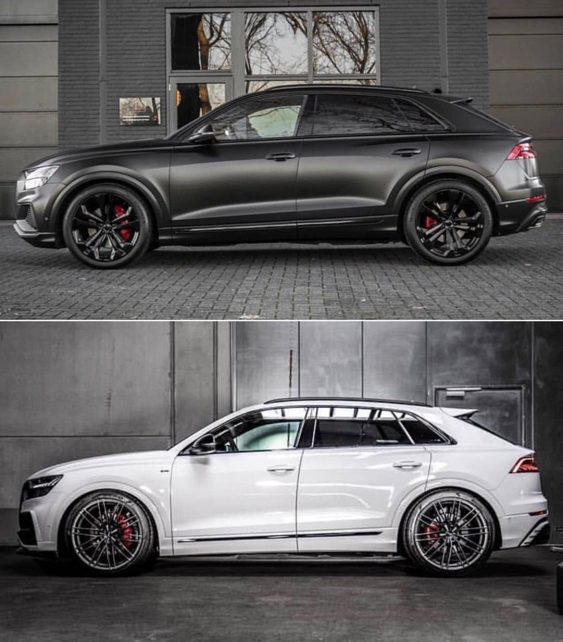 2019 Audi Q8 Custom Everything Black Or White Audi Black Custom Modifiedcarprojects Wh Audi Q Audi Q7 Black Audi Rs