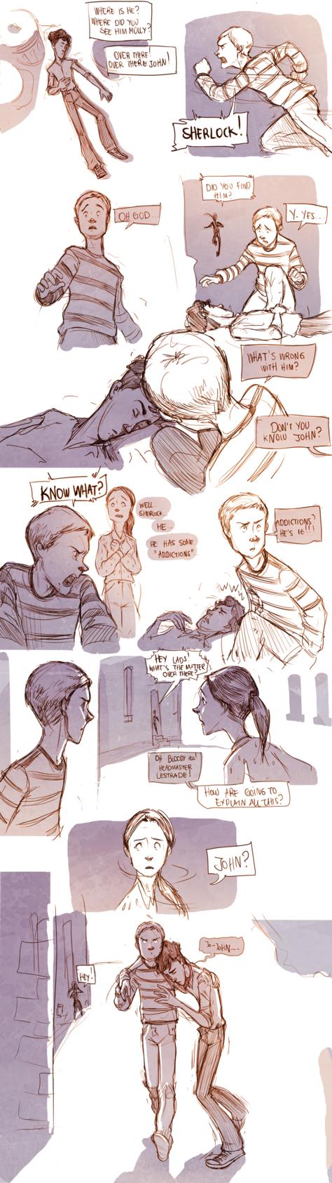 Teen Sherlock - Addictions Part 1 by *DrSlug on deviantART