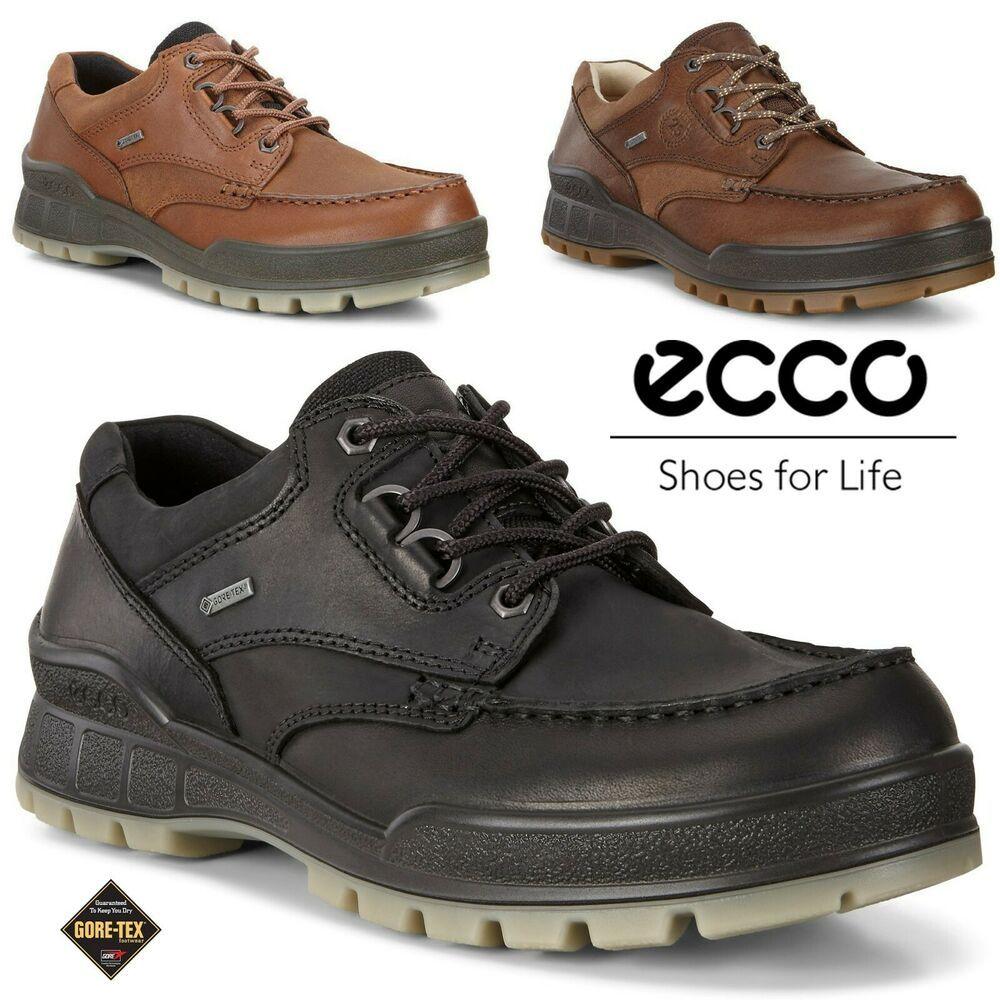 Ecco Track 25 Gore Tex Oiled Nubuck Leather Outdoor Hiking Boots Shoes Ecco Hikingtrail Pohodnye Botinki Sapogi Polusapozhki