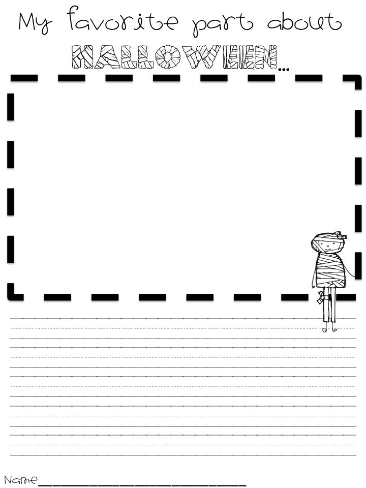The day after      | school | Halloween writing prompts