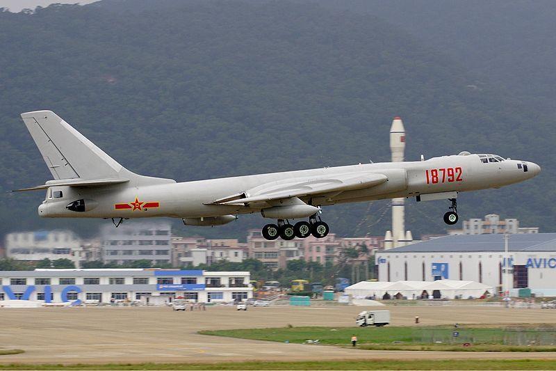 Chinese PLAAF Xian HY-6, strategic bomber  recon a/c. photo Li Pang