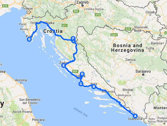 The Best Road Trip In Croatia For Beaches National Parks And Amazing Scenery Everywhere You Look Croacia Viajes Europa