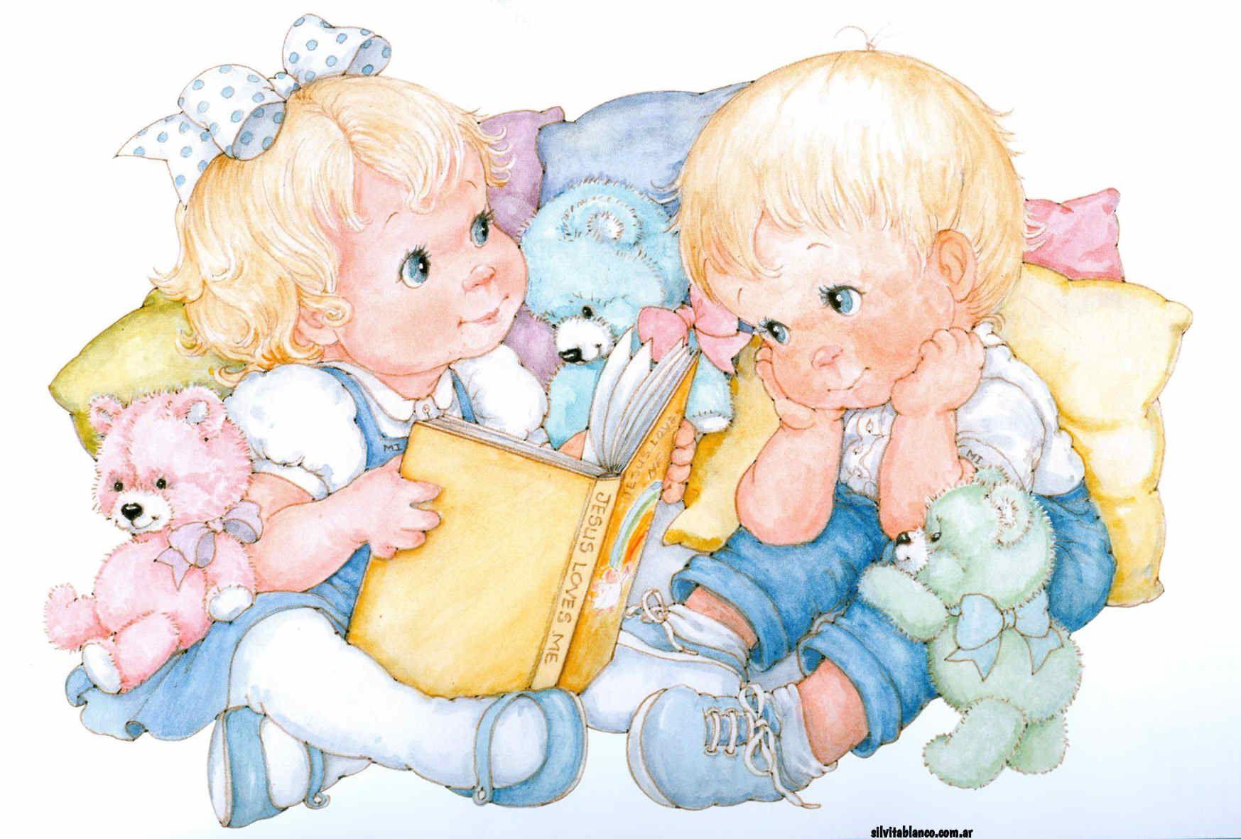 Картинки иллюстрации дети