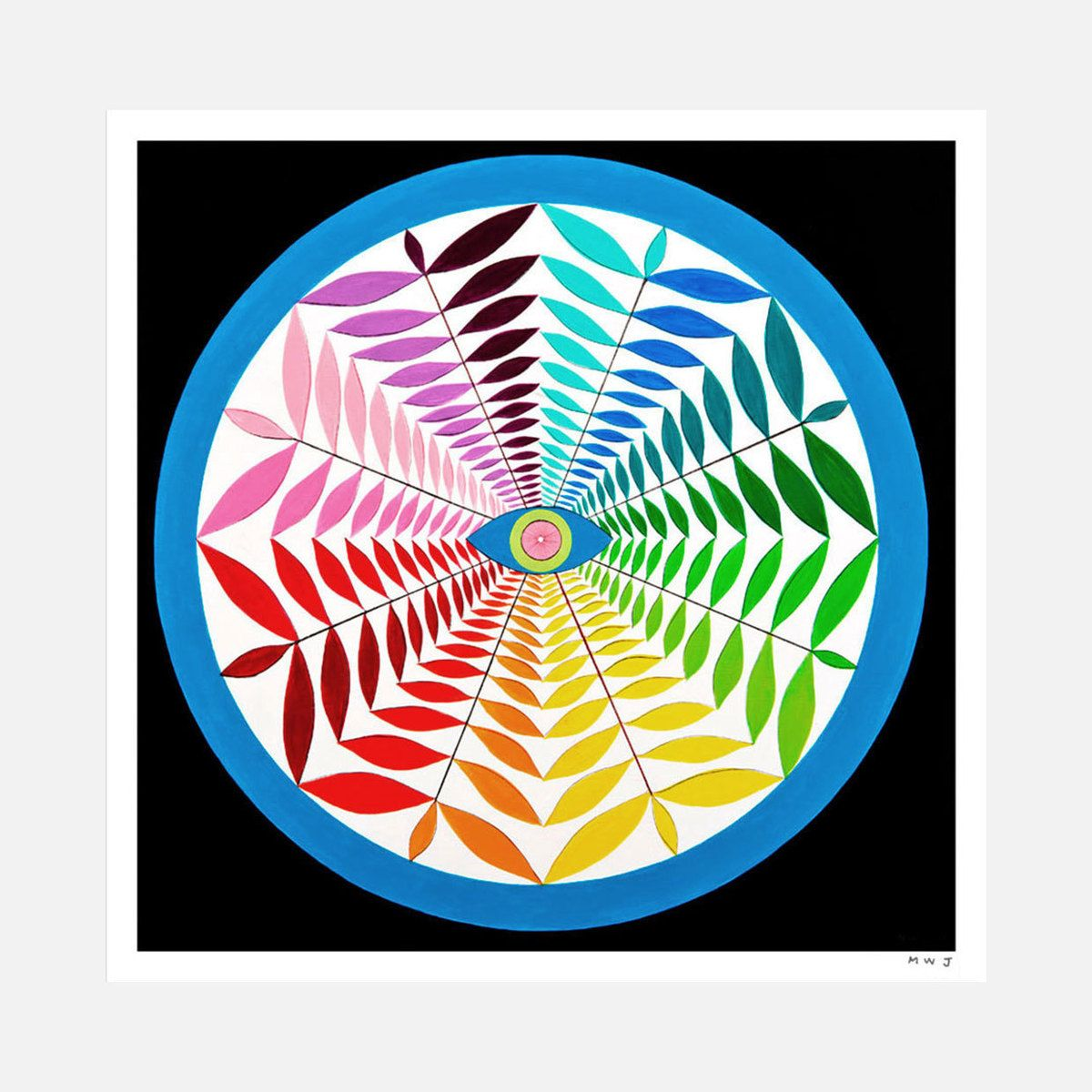 Co color wheel art - Mark Warren Jacques Thinking Of Using This As An Alternative Project Idea For The Color Wheel Have The Students Come Up With A Radial Pattern While Working