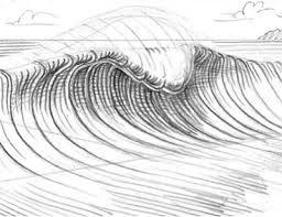 Bildergebnis Für Wellen Sketch Wellen Zeichnen Zeichnen