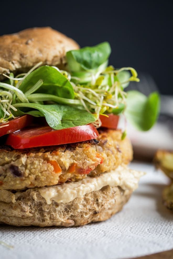 Camembert and Quinoa Burgers | The Cook & Him Camembert and Quinoa Burgers | The Cook & Him The Coo