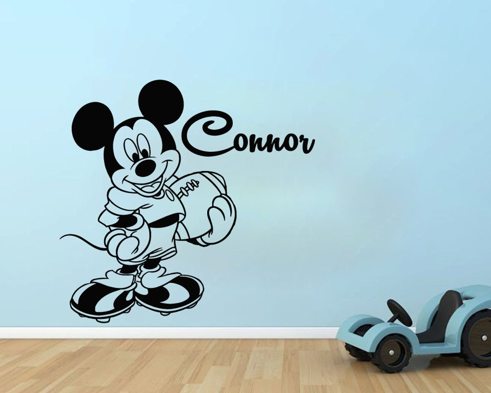 Nursery-Home Bedroom Gamer Personalized /& Custom Wall Decal Vinyl Sticker