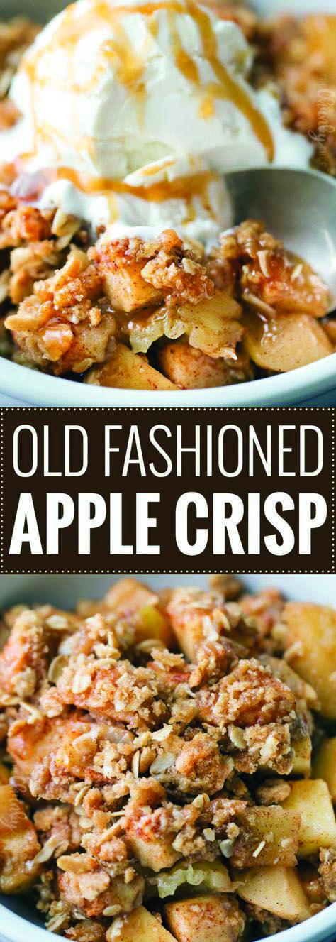 Classic Apple Crisp #applecrisprecipe