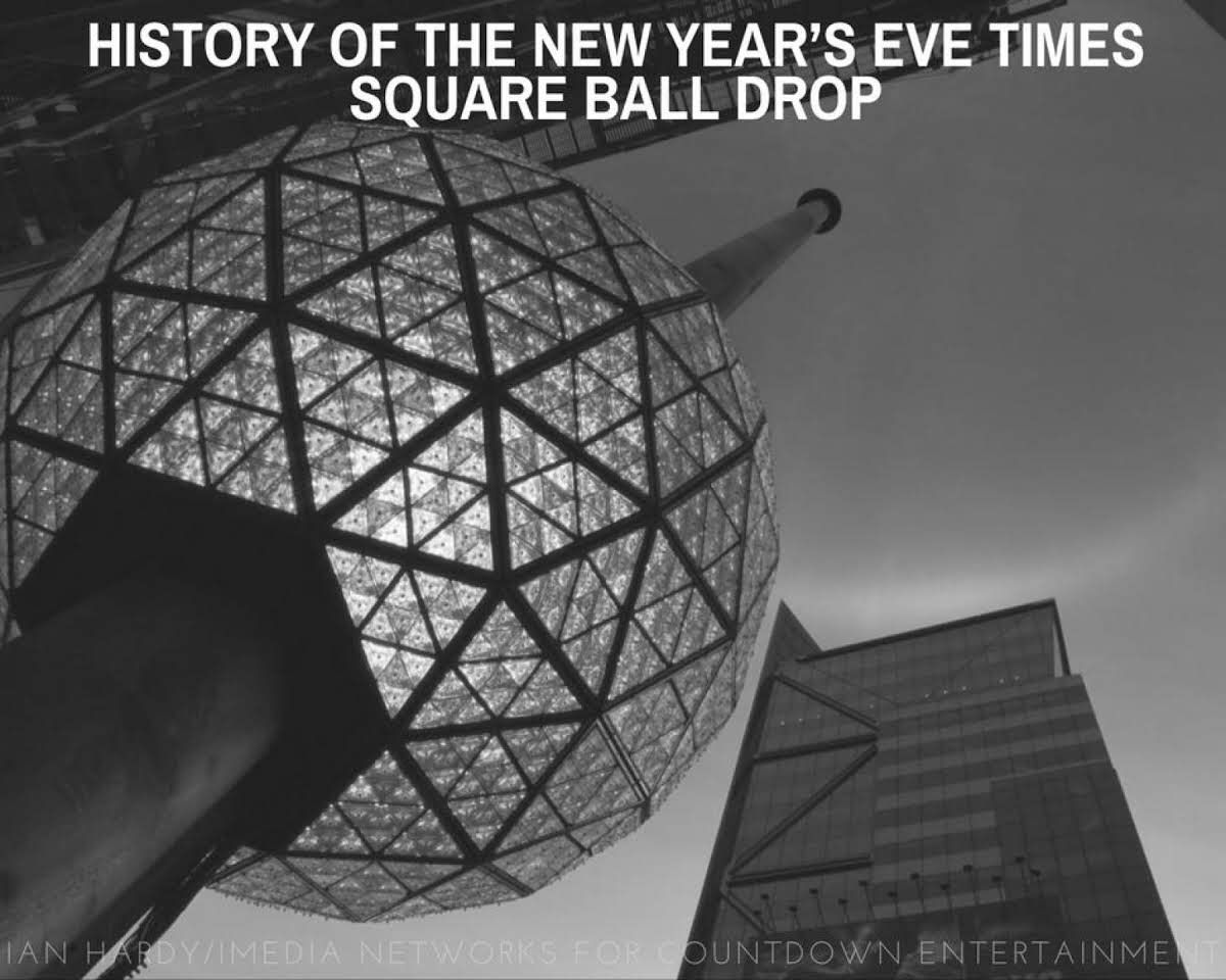 History Of The New Year S Eve Times Square Ball Drop Justapinchrecipes Times Square Ball Drop Times Square Ball New Year S Eve Times Square
