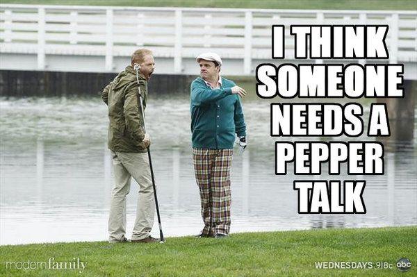 Pepper talk!