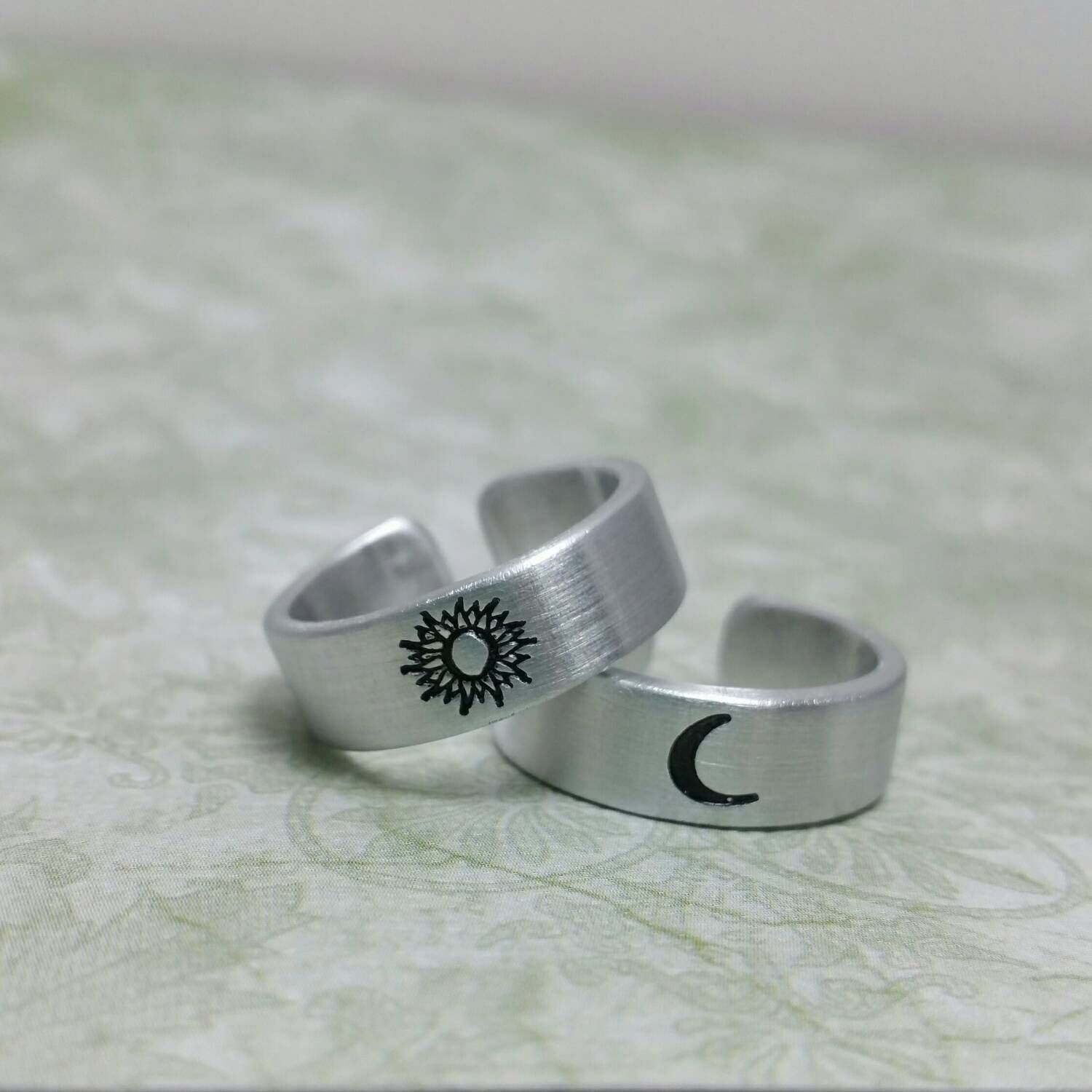 moon ring sterling fine jewellery delicate combinations rings silver products straits finery the stacking