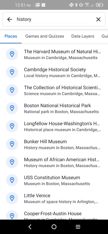 يحتوي تطبيق جوجل إيرث الآن على واجهة بحث جديدة والمزيد Local History History Museum Science Museum