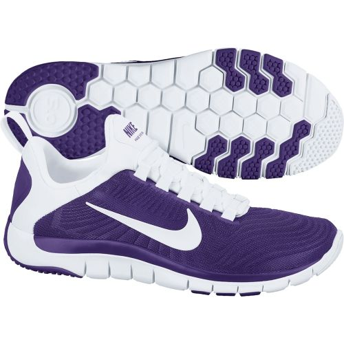 12d7a5bc1718a Nike Mens Free TR 5.0 TB Training Shoes Court Purple White 644682 ...