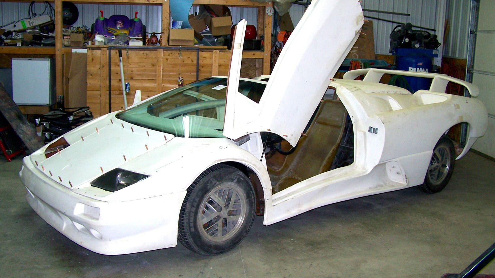 1987 Lamborghini Diablo Roadster Replica Kit Car | Replica cars for ...