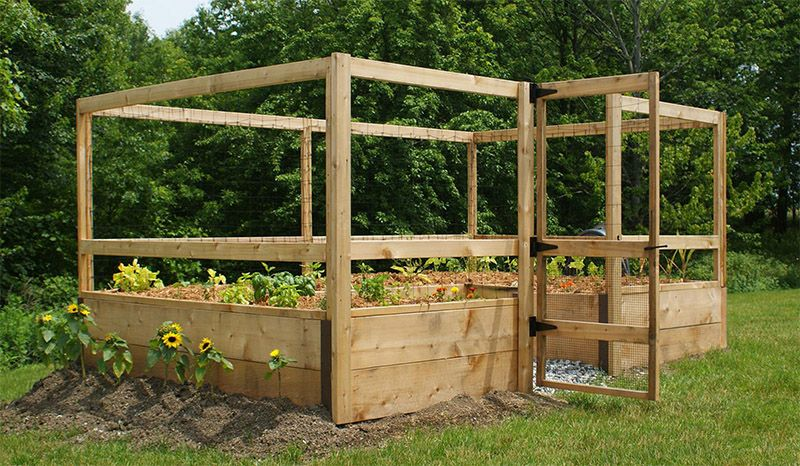 deer proof just add lumber vegetable garden kit