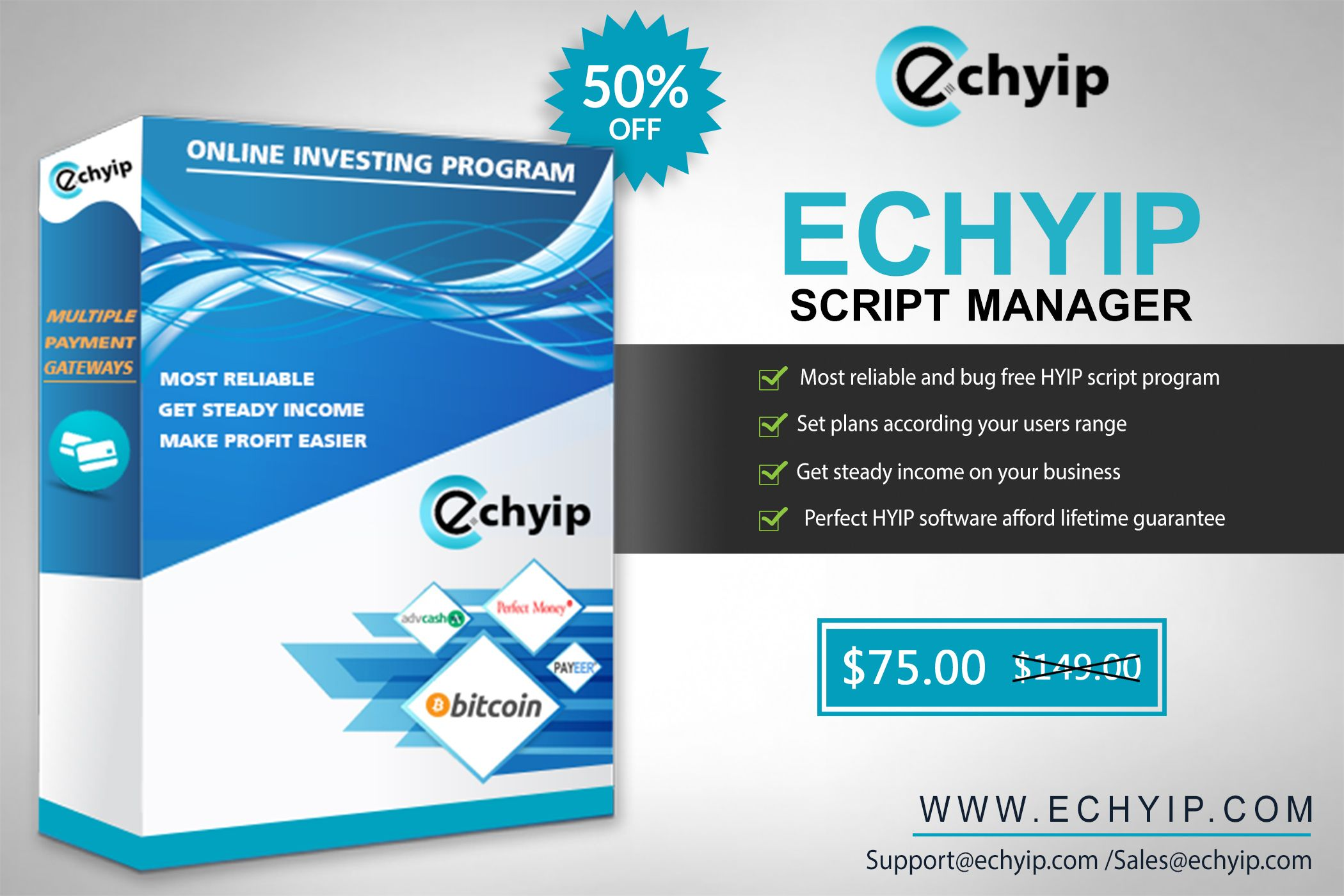 Now, start your own HYIP business with the best HYIP Script  EC HYIP