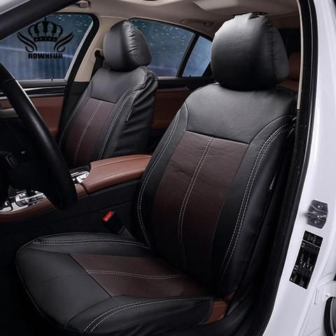 New Luxury Pu Leather Auto Universal Car Seat Covers Automobile Seat ...