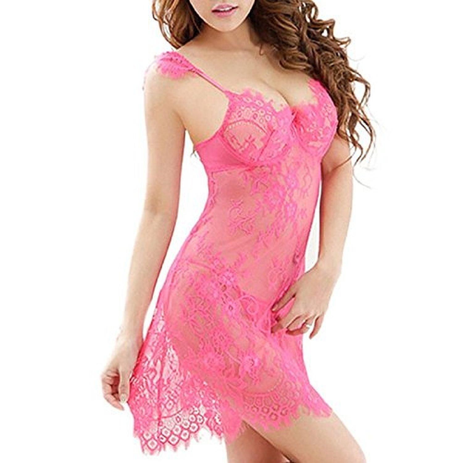 ODGear Sexy Lace Braces Skirt with G-String for Women Sex Temptation ...