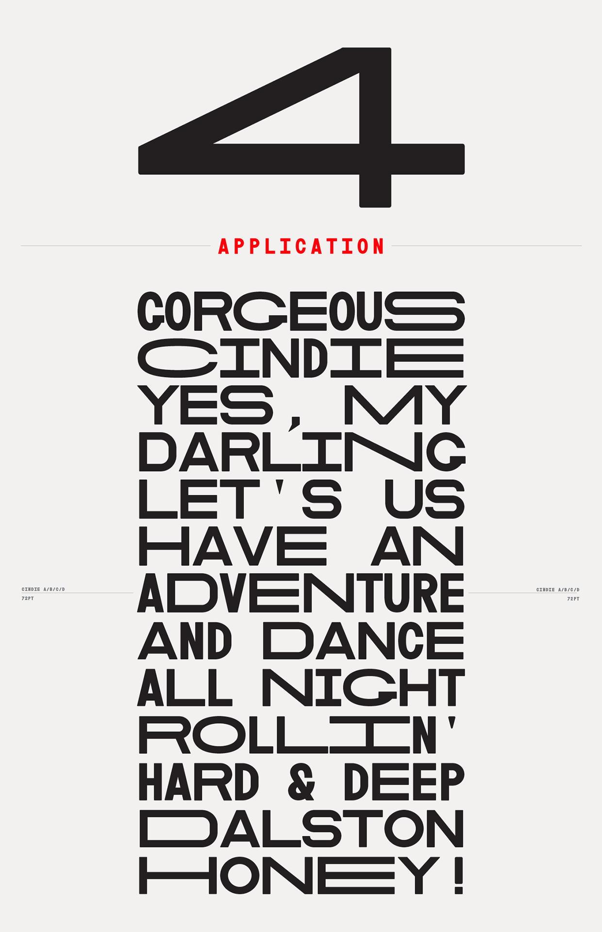 Cindie Mono | Project on Behance | | design: love letters