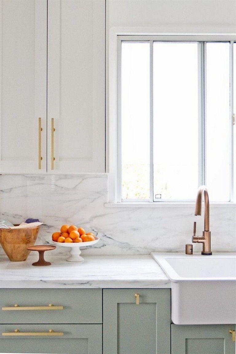 25 Beautiful Kitchen Color Ideas That Will Refresh Your Eyes White Modern Kitchen Kitchen Cabinet Design Kitchen Decor