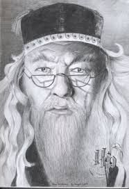 Dumbledore Drawing Google Search Drawings Harry Potter Baseball Cards