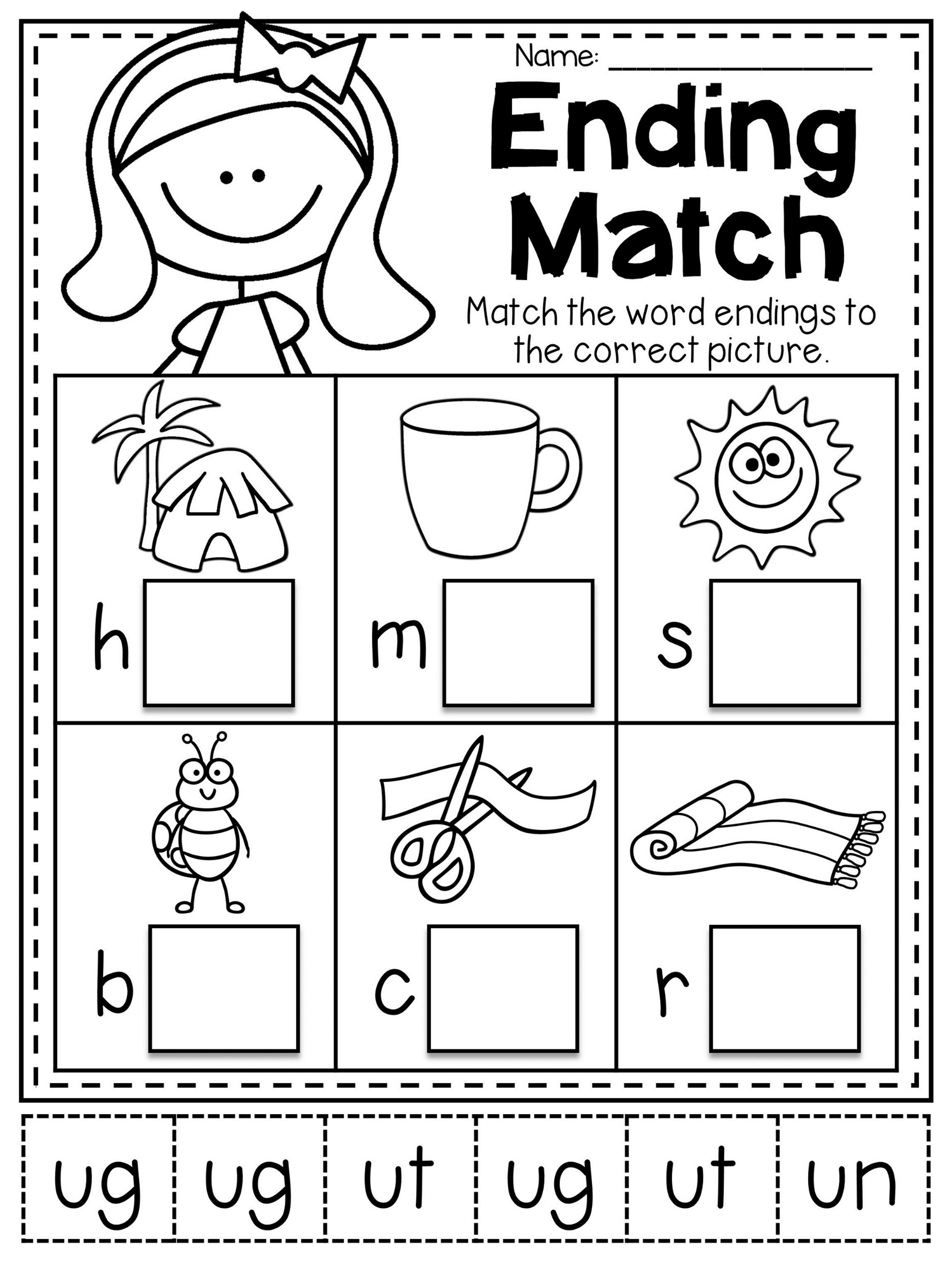 Mega Cvc Worksheet Pack Pre K Kindergarten Preschool Activities
