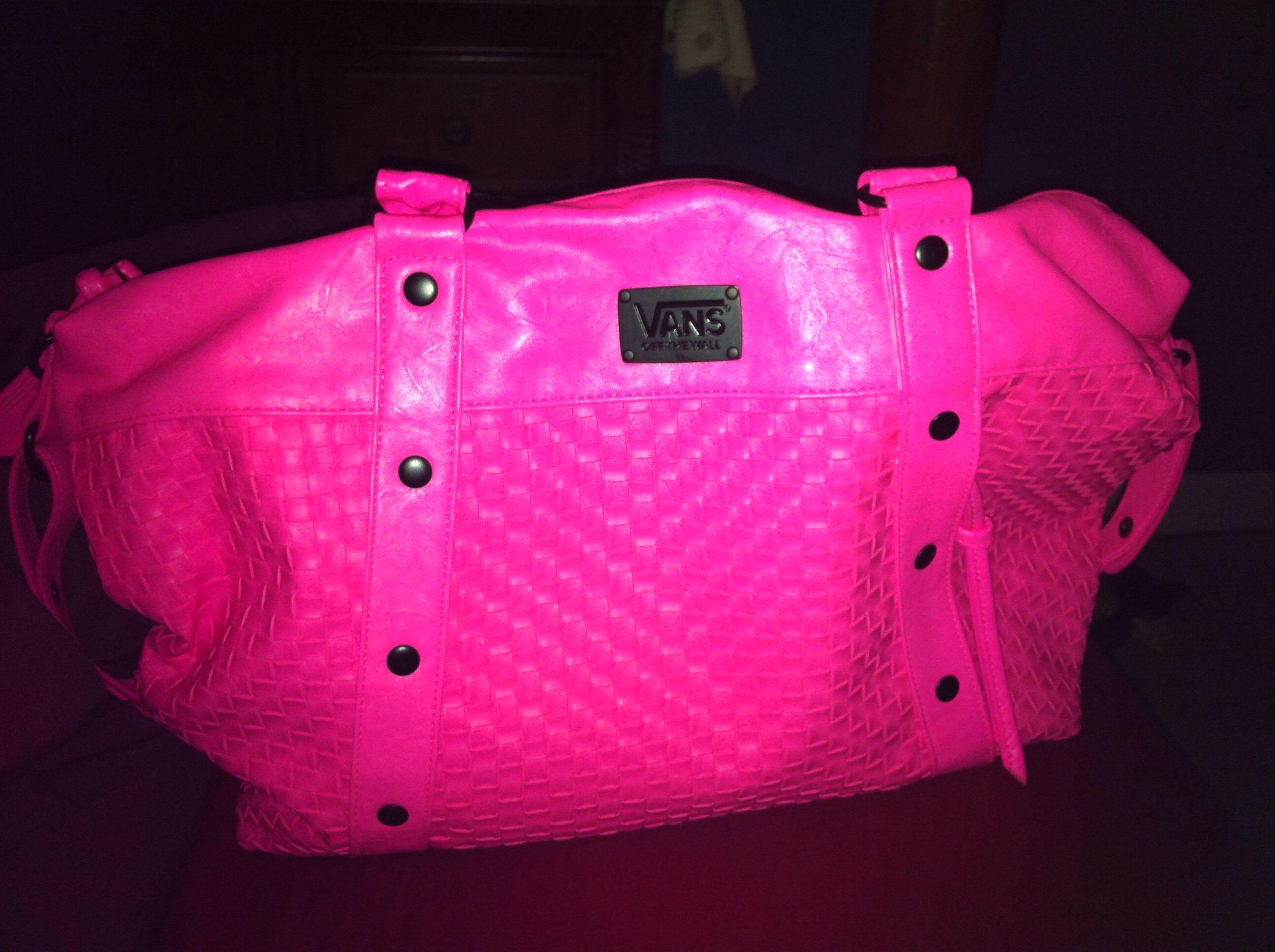 3f717bb63c Hot pink vans purse
