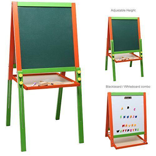 Children\u0027s Adjustable Height Green Blackboard  Whiteboards