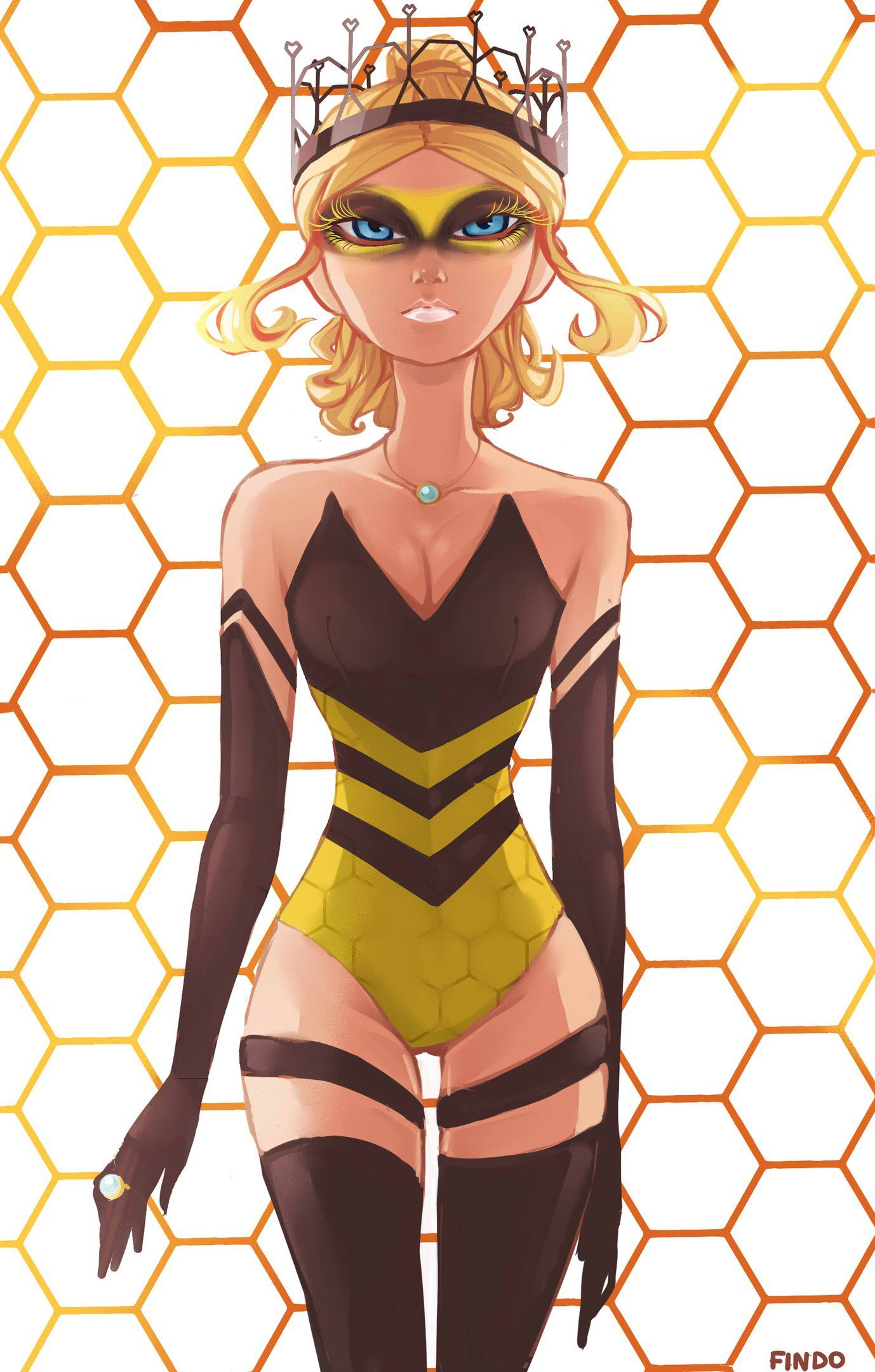 Queen bee of the hive | Miraculous ladybug comic