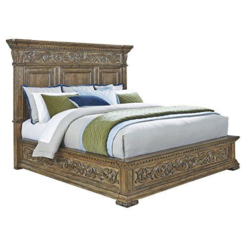 Pulaski Stratton Bed Queen King Size Bed Frame Furniture King Beds