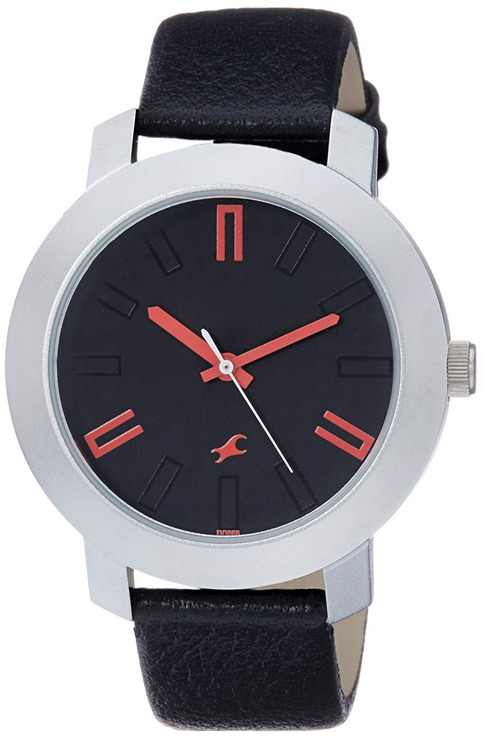 Fastrack Casual Analog Black Dial Men's Watch NK3120SL02
